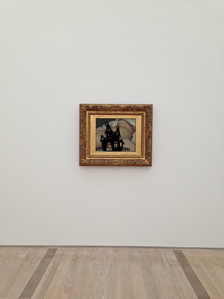 L'origine du monde, Gustave Courbet. Haunted version by cocobella