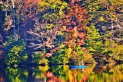 27th Oct 2014 - Kayak on Lake Winfield Scott