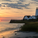Sunrise at Lynde Light in Old Saybrook by mccarth1