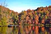 29th Oct 2014 - Lake colors with kayak