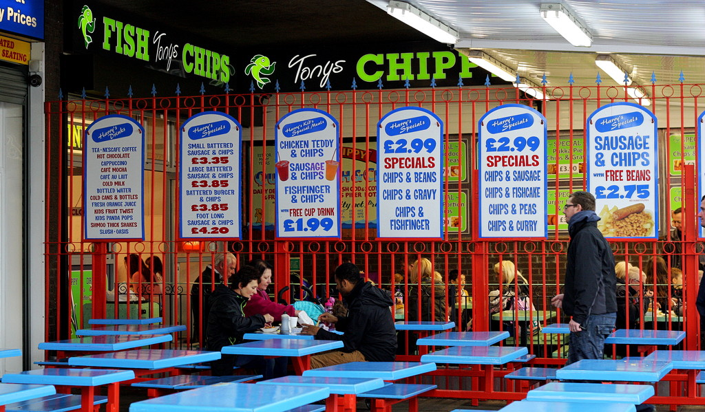 Chips With Everything : Seaside Fayre by phil_howcroft