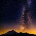 Milky Way over Mount Baker