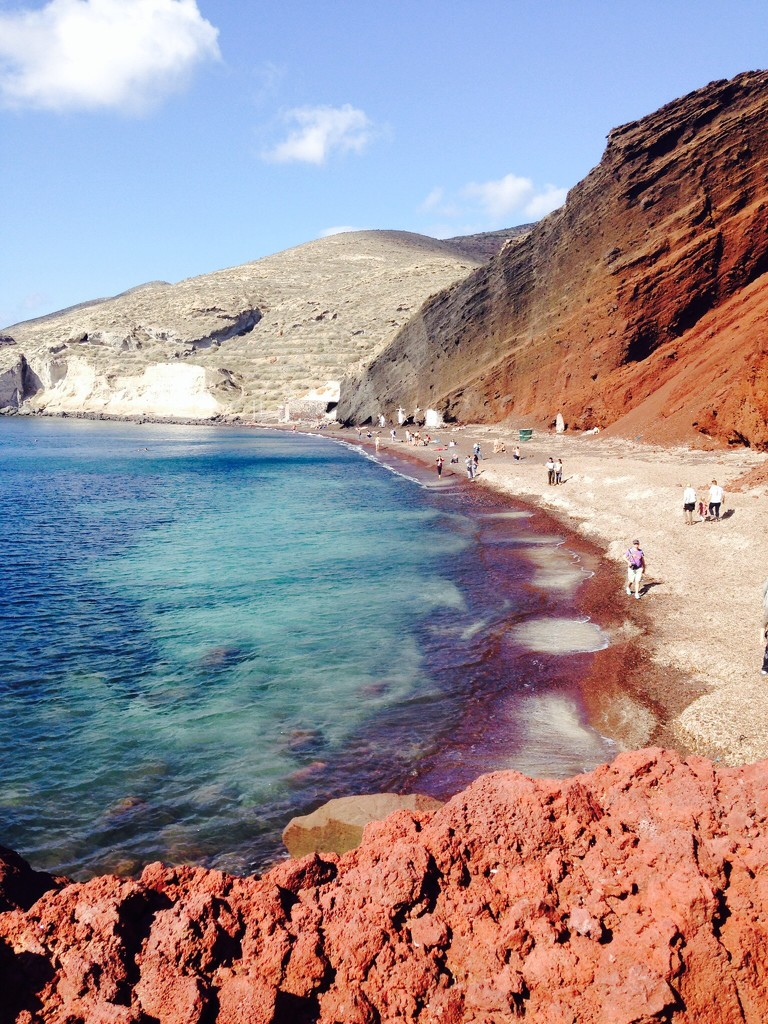 Red Beach by sarahabrahamse
