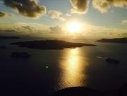 31st Oct 2014 - Sunset Santorini