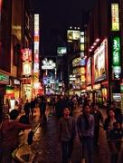 3rd Nov 2014 - Shibuya at night.