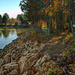 Autumn Shoreline by skipt07