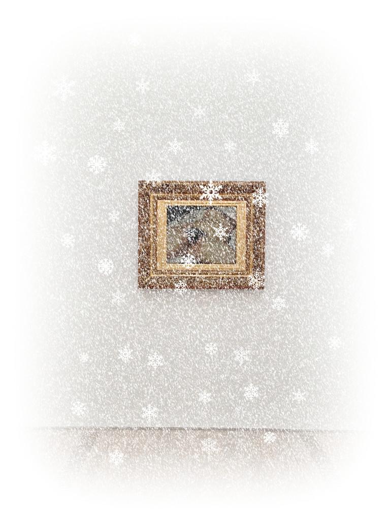 L'origine du monde, Gustave Courbet.Snowy version. by cocobella