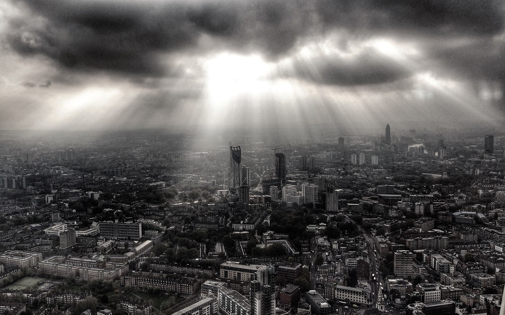 Elephant & Castle from the Shard by happypat