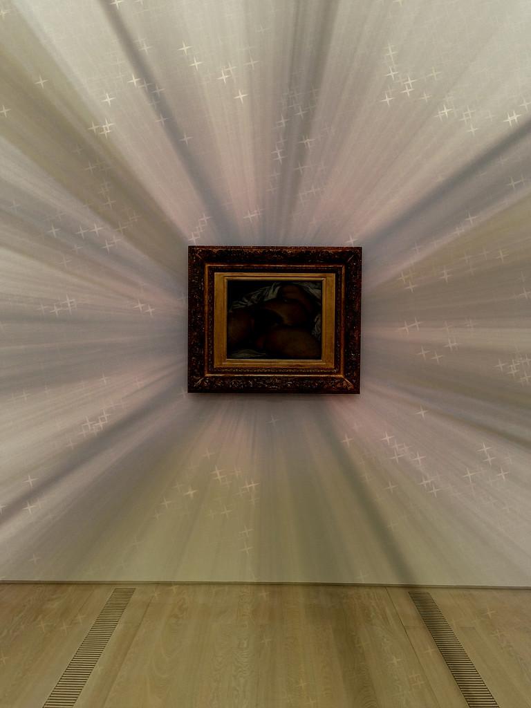 L'origine du monde, Gustave Courbet. Radiant version. by cocobella