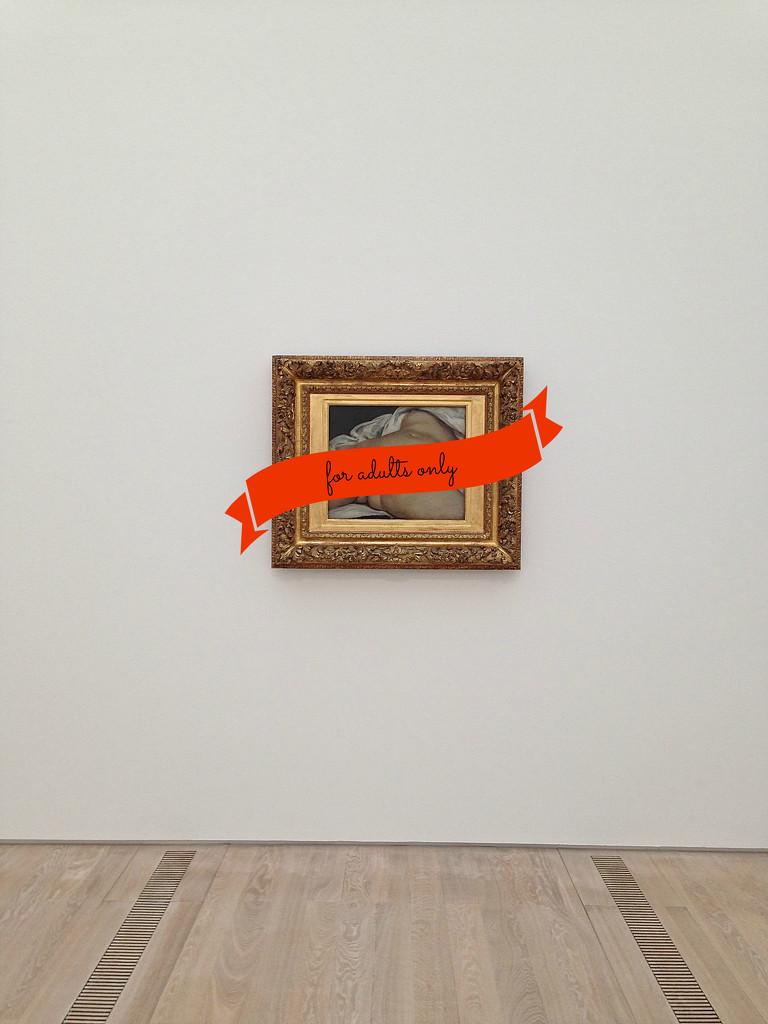L'origine du monde, Gustave Courbet. For adult only. by cocobella