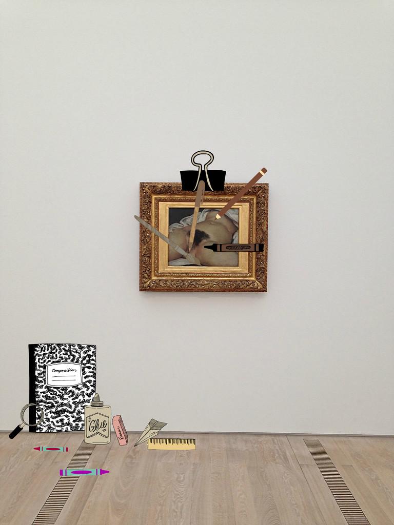 L'origine du monde, Gustave Courbet. Student version. by cocobella