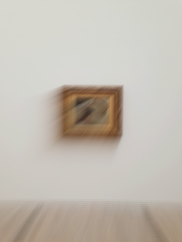 L'origine du monde, Gustave Courbet. Hyper blurry version by cocobella