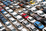 4th Nov 2014 - Filas de coches / Rows of cars