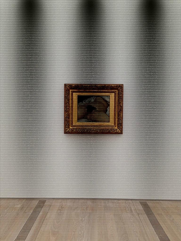 L'origine du monde, Gustave Courbet. Bad lighting version. by cocobella