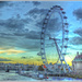 The London Eye At Dusk by carolmw