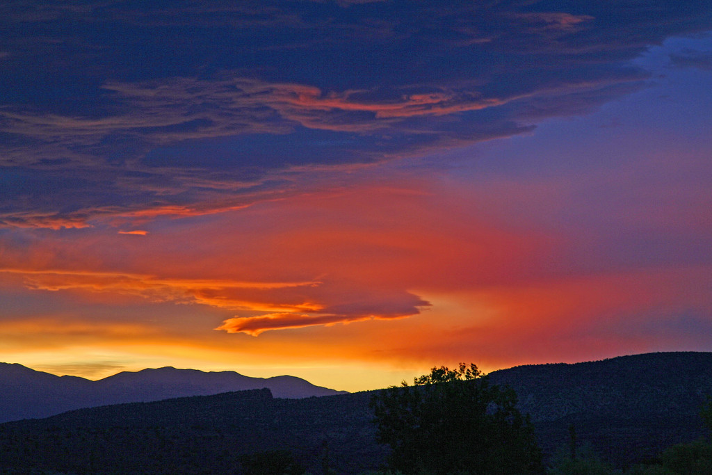 Sunset Near Capital Reef National Park by tosee