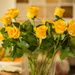 Yellow roses in my kitchen