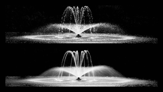 Fountain fast and slow by dulciknit