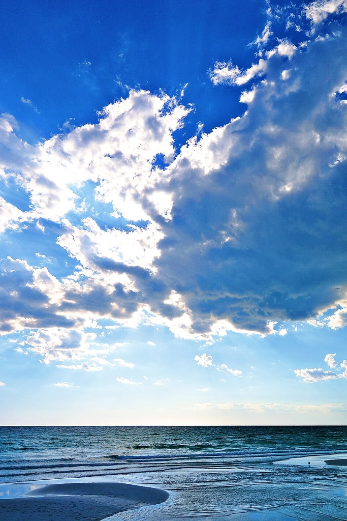 Afternoon Clouds on Miramar Beach by soboy5
