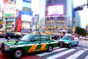 15th Nov 2014 - Taxis in Tokyo