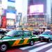 Taxis in Tokyo by cocobella