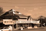 14th Nov 2014 - Richland General Store - sepia