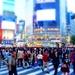 crowded Shibuya by cocobella