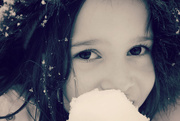 18th Nov 2014 - The Ice Princess Eats a Snowball