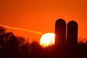19th Nov 2014 - Silos at Sunset