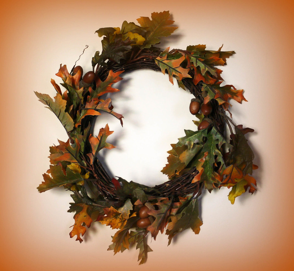 Autumn wreath by mittens