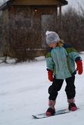 22nd Nov 2014 - Naomi Snowboarding!