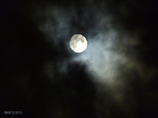 Spooky Moon by peggysirk