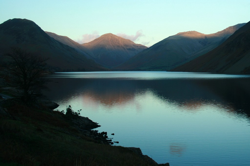 Wasdale - sunset tips by callymazoo