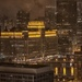 Merchandise Mart on a Rainy Evening by taffy