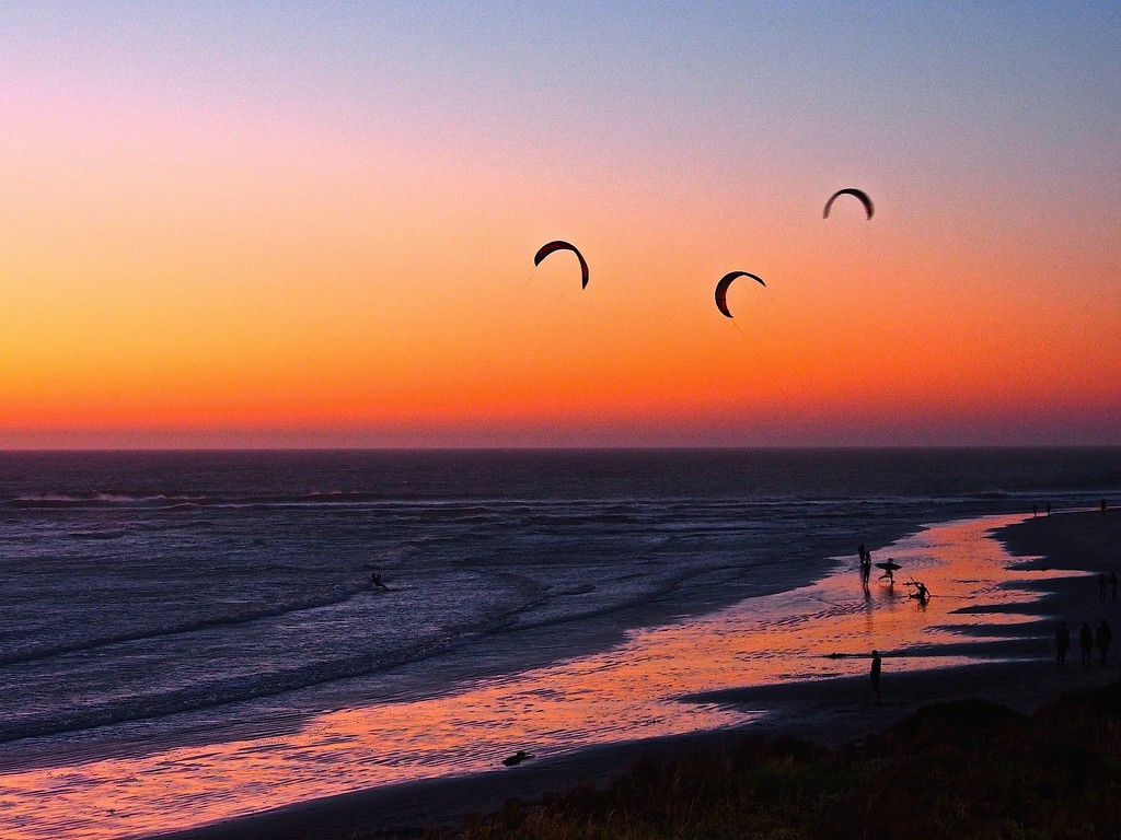 Kite Surfing, Cape Town  by redy4et