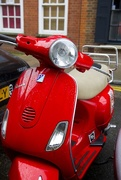 26th Nov 2014 - Bright Red Scooter