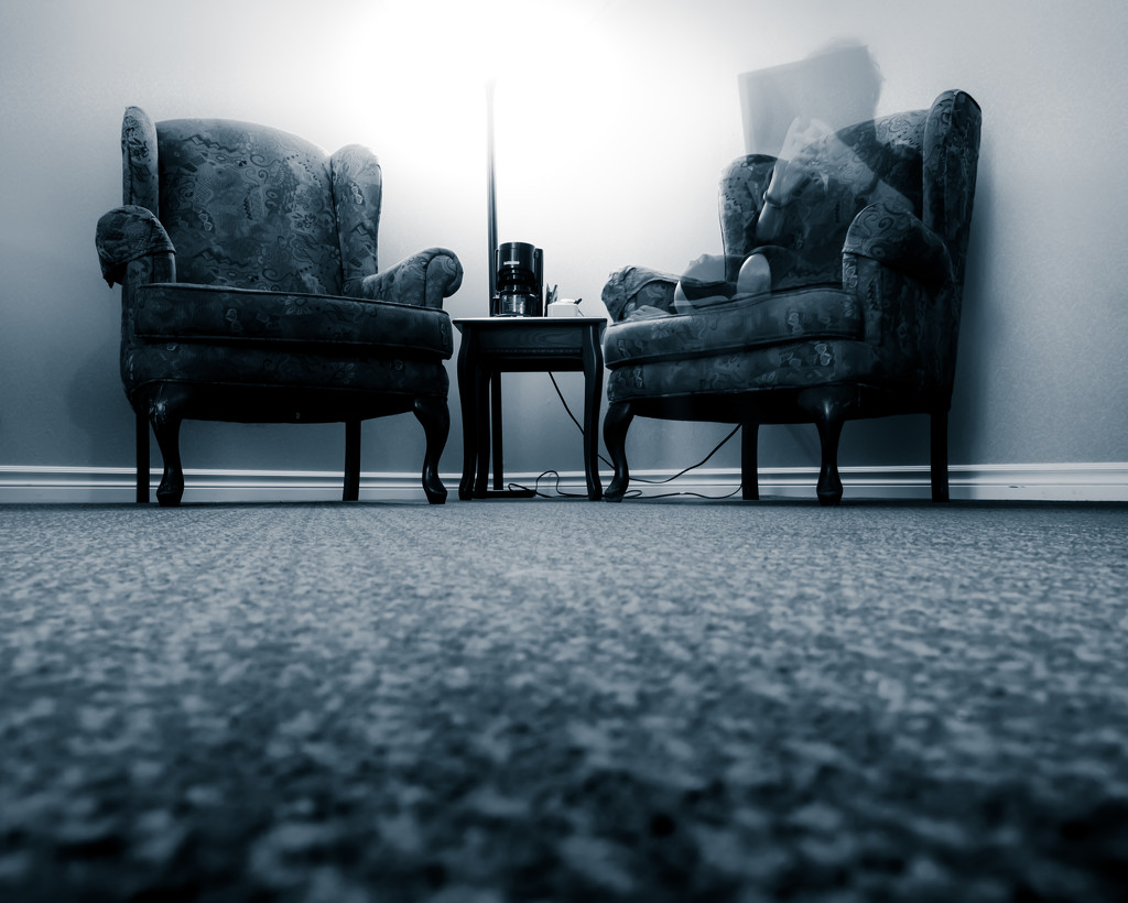 the ghost in the chair... by northy
