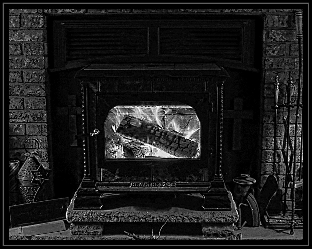 Thankful For...My Woodstove by olivetreeann