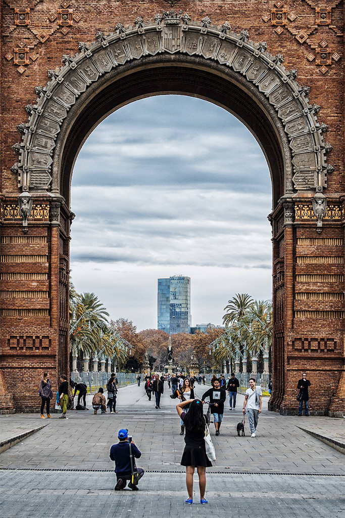 A través del Arco / Through the Arch by jborrases