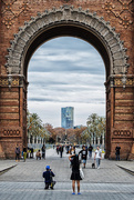 28th Nov 2014 - A través del Arco / Through the Arch