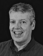 28th Nov 2014 - 50 mono portraits at 50mm : No. 26 : Phil Howcroft