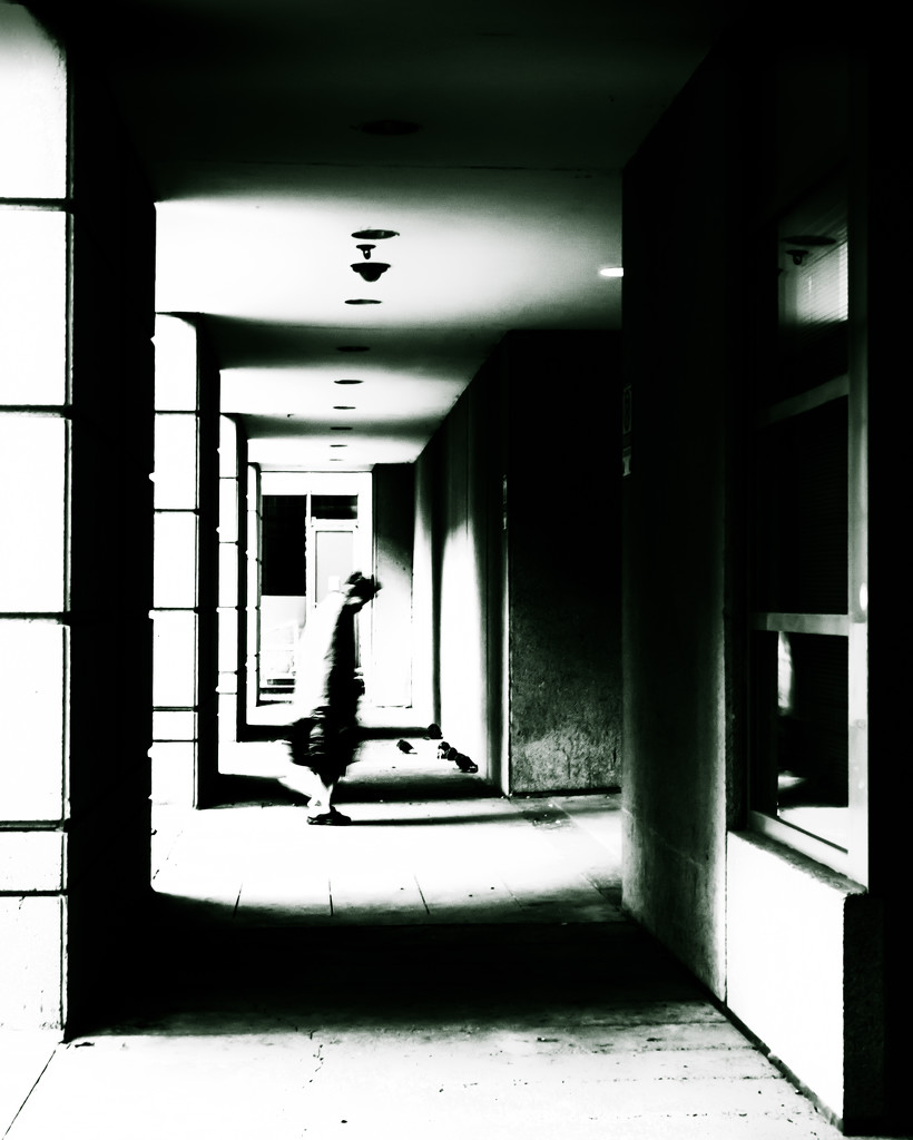 shadows, light and motion blur by northy