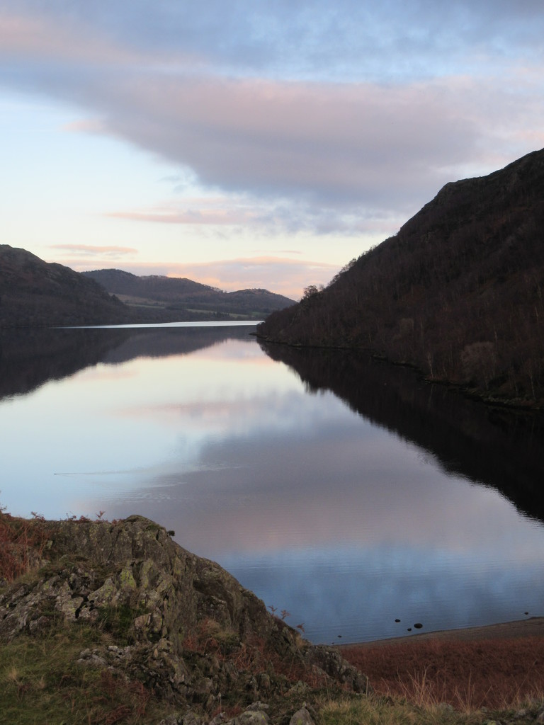 ullswater evening by pinkpaintpot