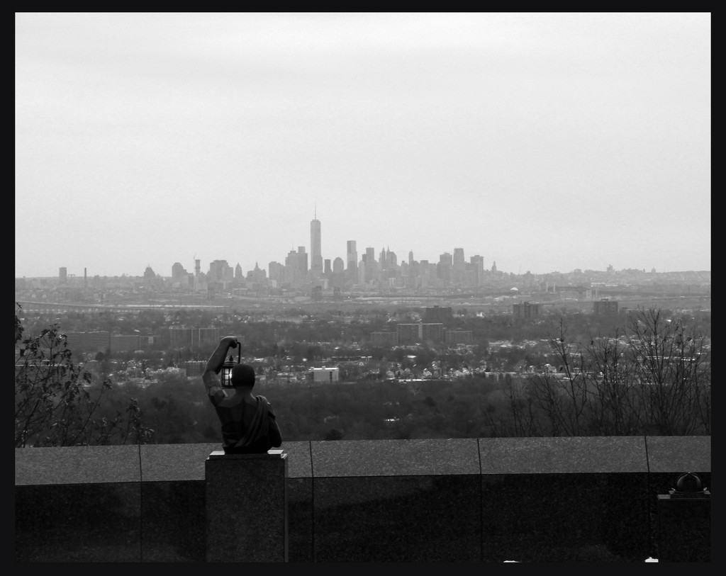Looking to the City by hjbenson