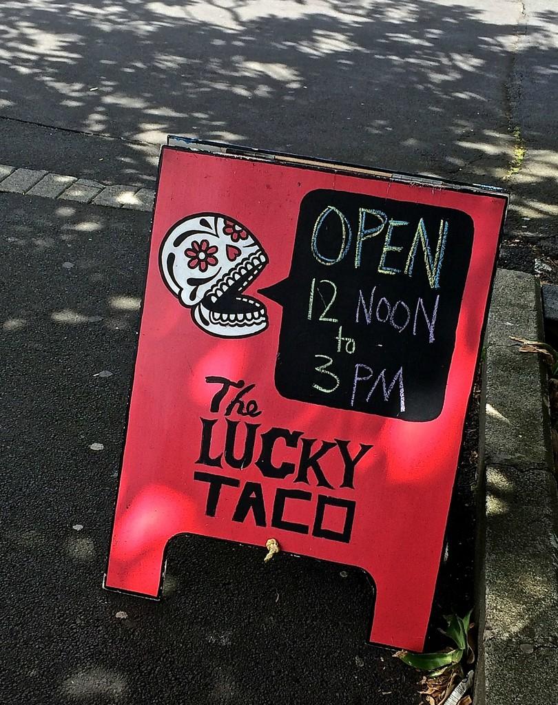 Lucky Taco by brigette