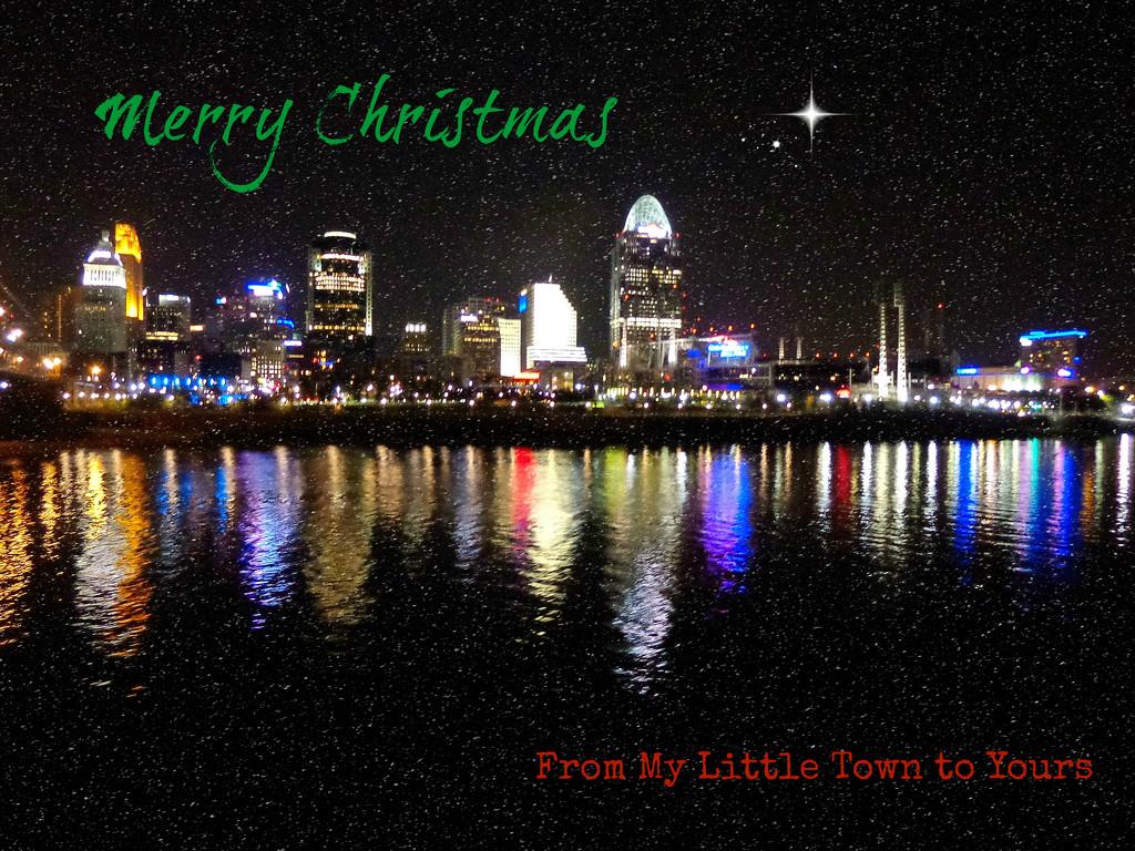 Oh Little Cincinnati Town by alophoto