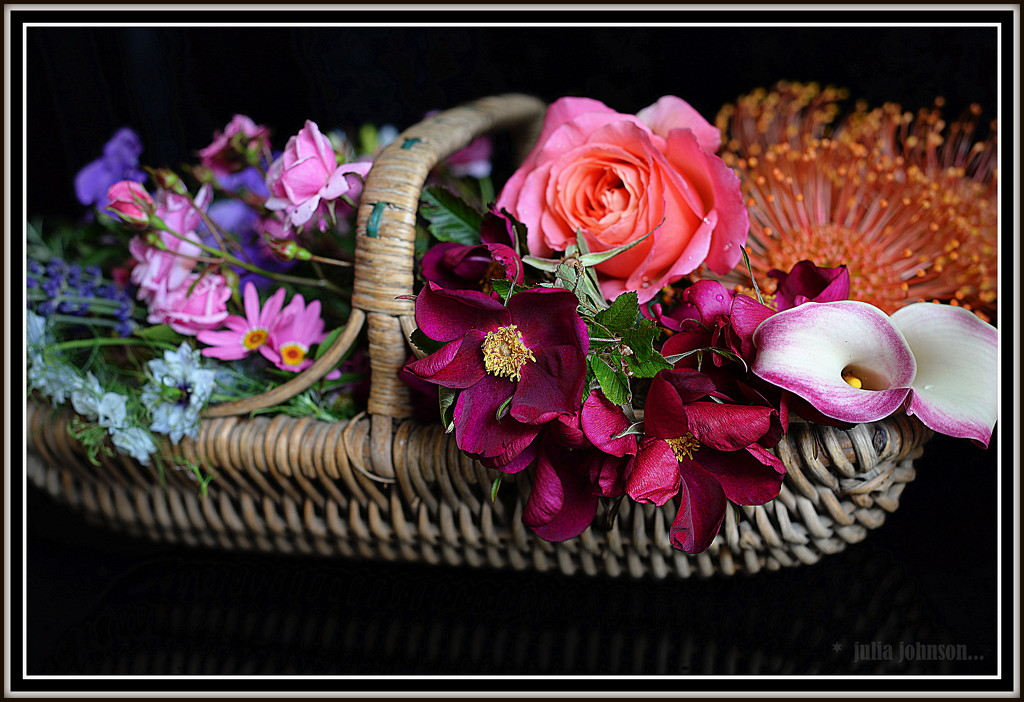 A Trug load of Flowers.. by julzmaioro