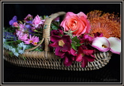 4th Dec 2014 - A Trug load of Flowers..