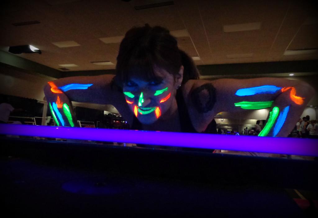 Teri: Yoga Raver, Workout Buddy, Friend by alophoto