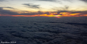 6th Dec 2014 - Above the clouds